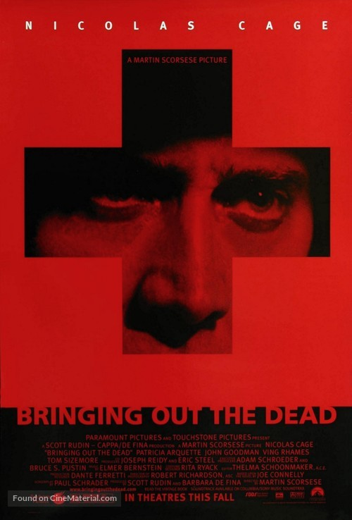 Bringing Out The Dead - Movie Poster