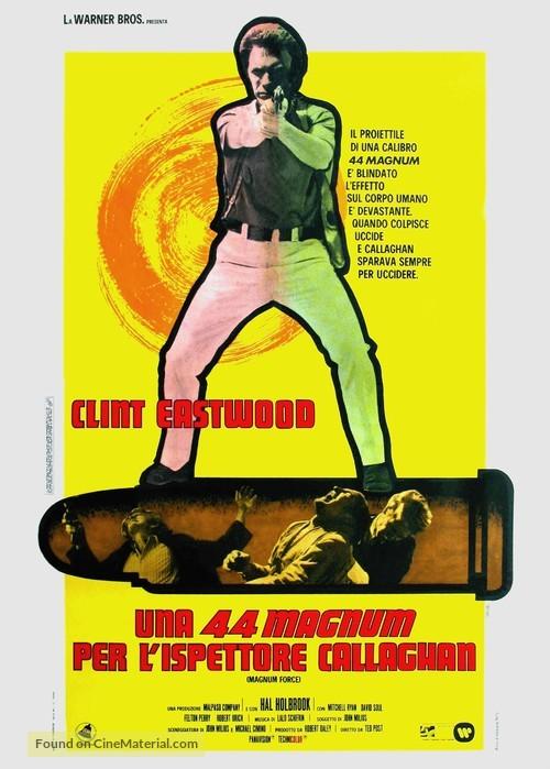 Magnum Force - Italian Movie Poster