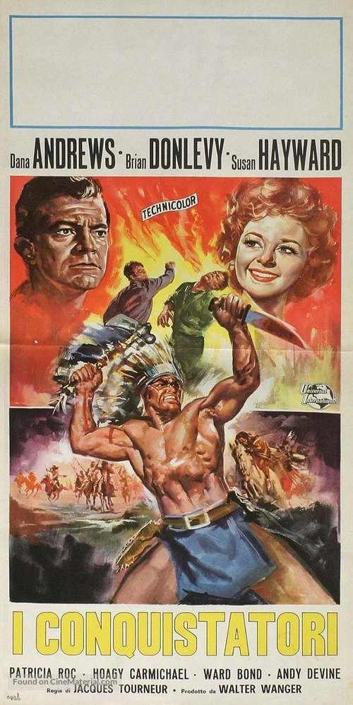 Canyon Passage - Italian Movie Poster