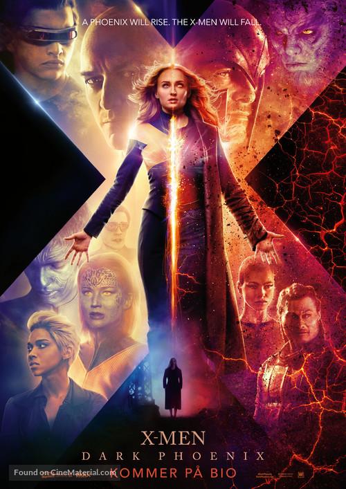 Dark Phoenix - Swedish Movie Poster