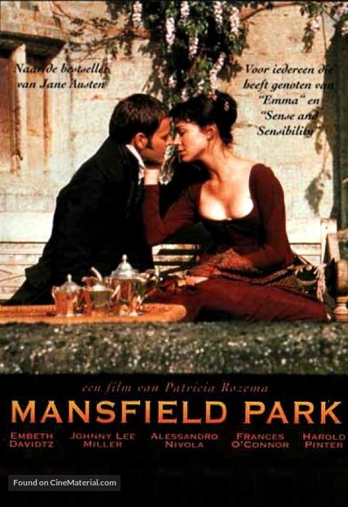 Mansfield Park - Dutch Movie Poster