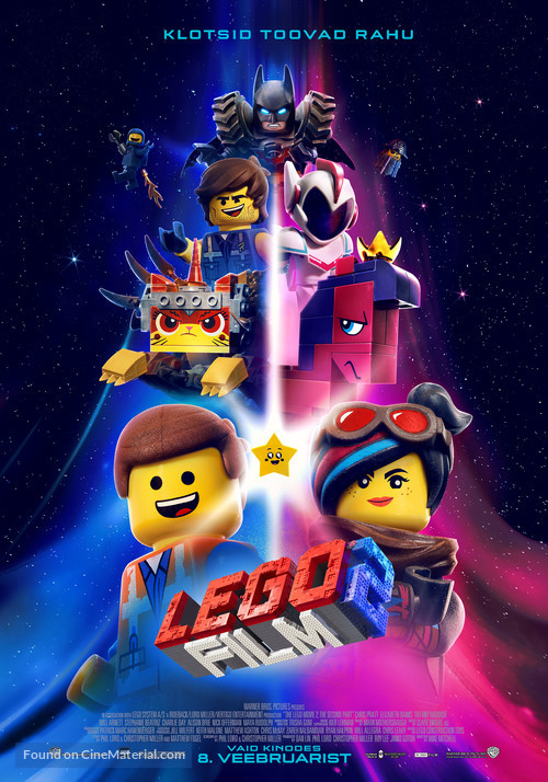The Lego Movie 2: The Second Part - Estonian Movie Poster