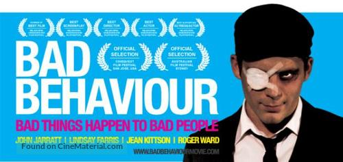 Bad Behaviour - Australian Movie Poster