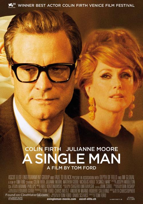 A Single Man - Swiss Movie Poster