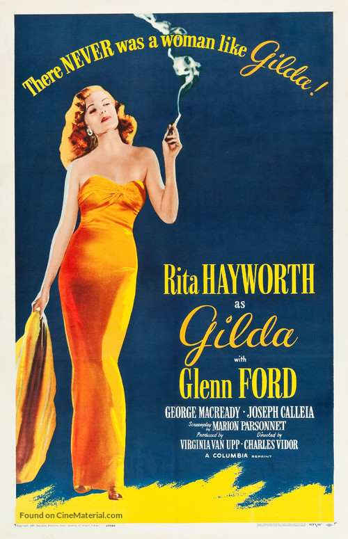 Gilda - Re-release movie poster