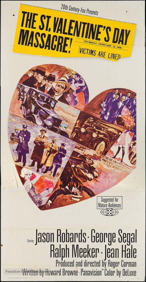 The St. Valentine's Day Massacre - Movie Poster