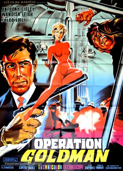 Operazione Goldman - French Movie Poster