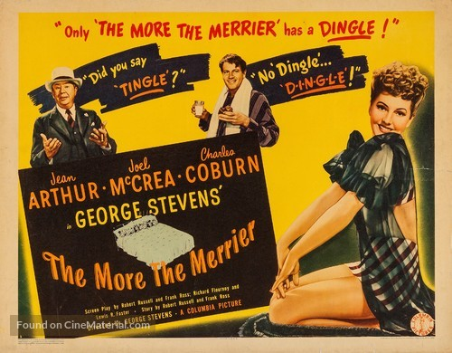 The More the Merrier - Movie Poster