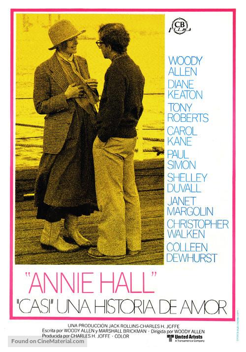 Annie Hall - Spanish Movie Poster