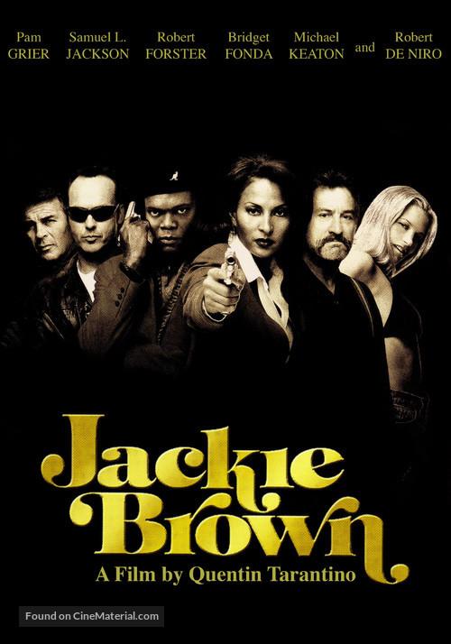 Jackie Brown - DVD movie cover
