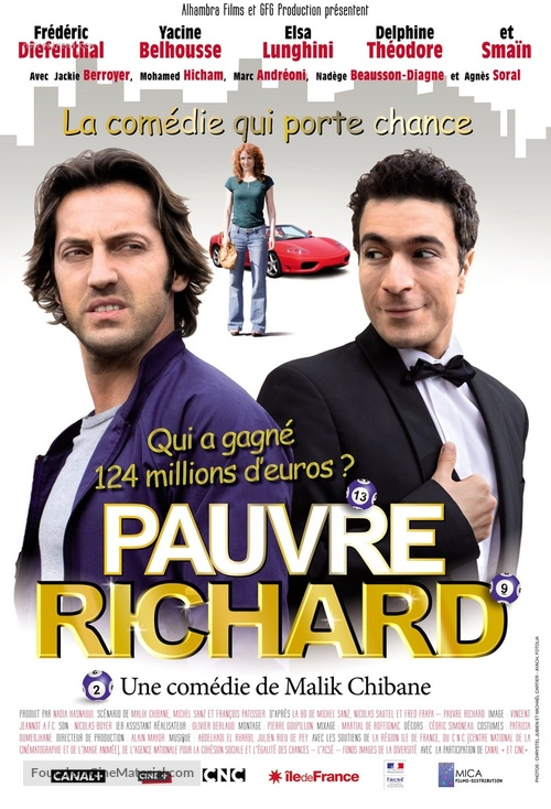 Pauvre Richard! - French Movie Poster