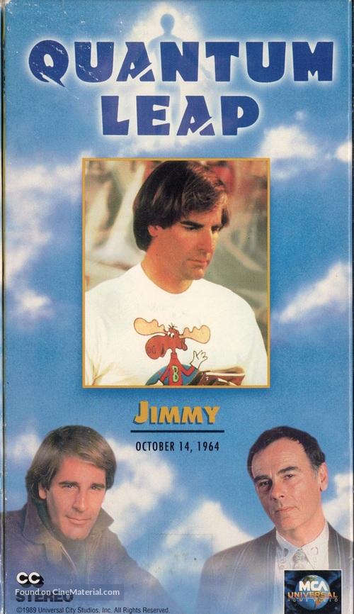 """Quantum Leap"" - VHS movie cover"