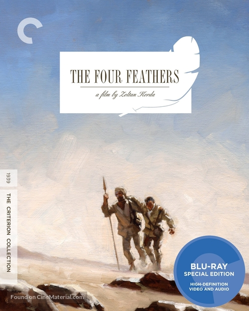 The Four Feathers - Blu-Ray movie cover