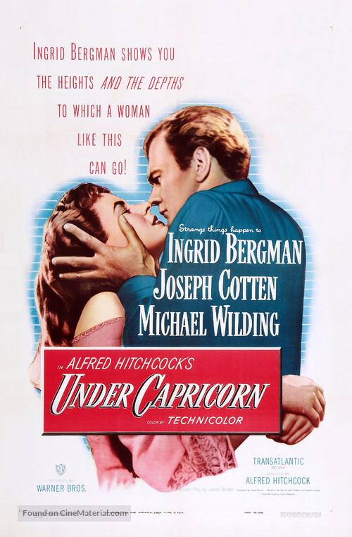 Under Capricorn - Theatrical movie poster