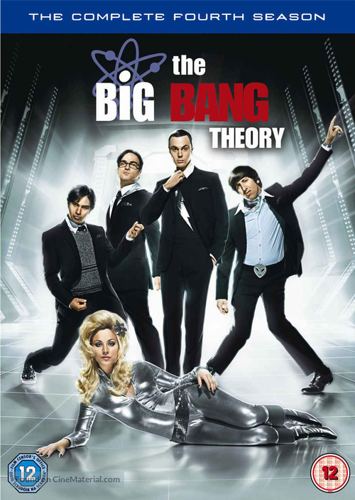 """The Big Bang Theory"" - British DVD movie cover"