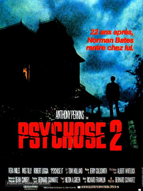 Psycho II - French Movie Poster