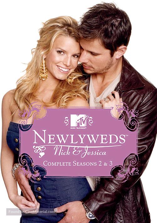 """Newlyweds: Nick & Jessica"" - DVD movie cover"