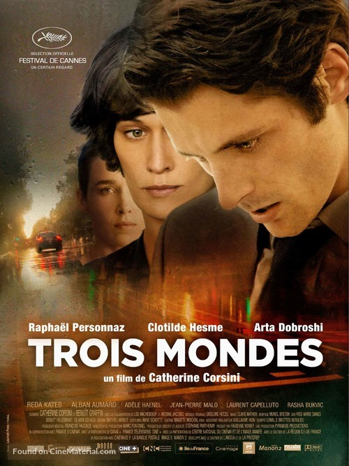 Trois mondes - French Movie Poster
