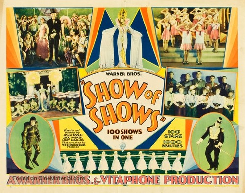 The Show of Shows - Movie Poster