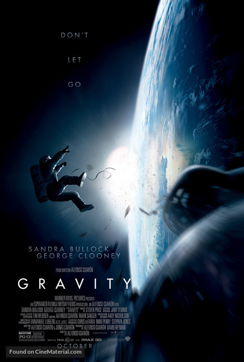 Gravity - Theatrical movie poster