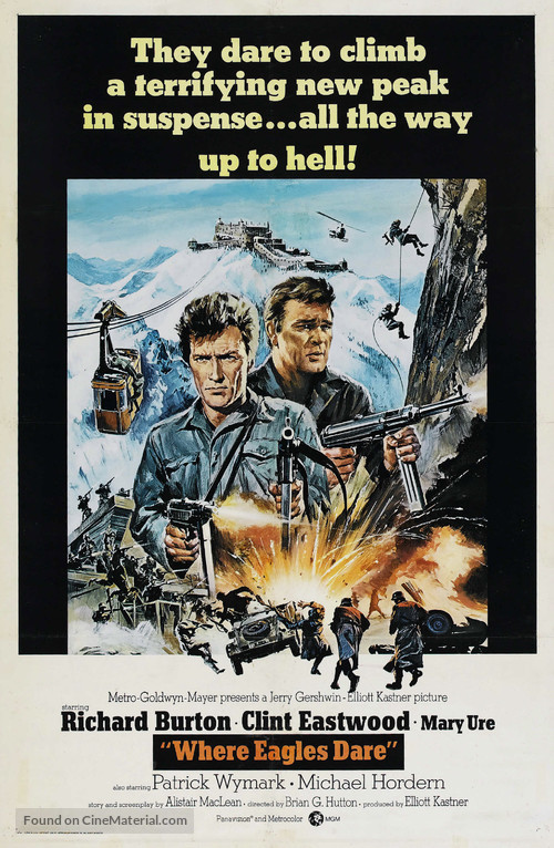 Where Eagles Dare - Movie Poster