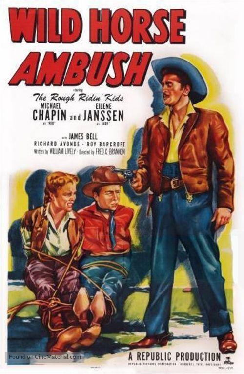 Wild Horse Ambush - Movie Poster