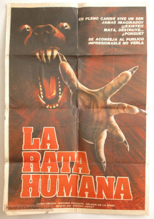 Quella villa in fondo al parco - Chilean Movie Poster