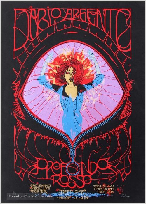 Profondo rosso - Italian Movie Poster