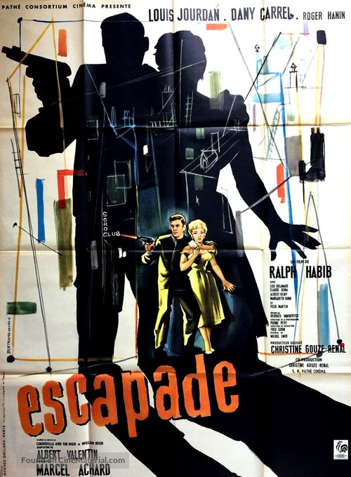 Escapade - French Movie Poster