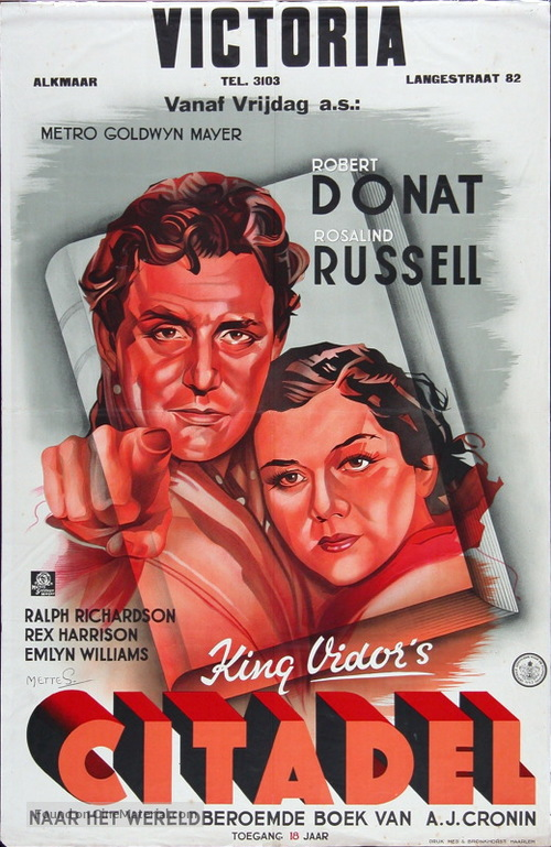 The Citadel - Dutch Movie Poster