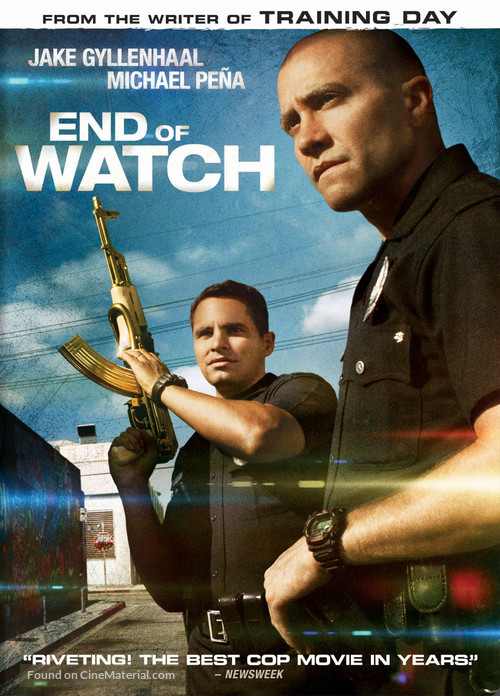 End of Watch - DVD movie cover