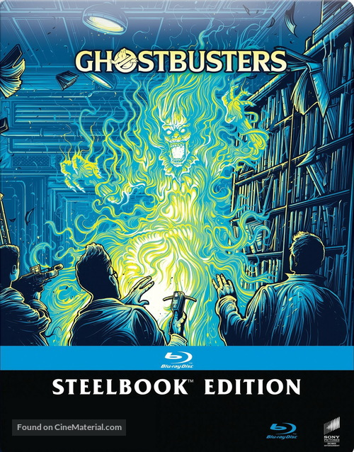 Ghostbusters - Italian Movie Cover