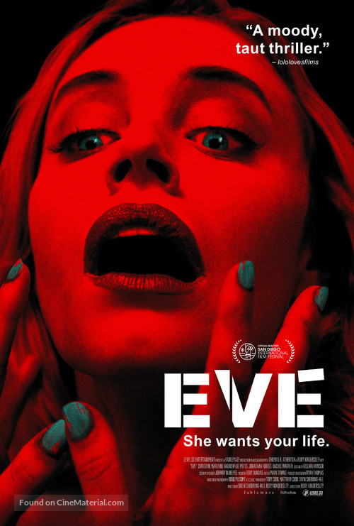 Eve - British Movie Poster