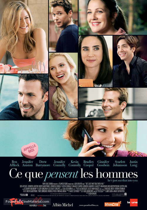 He's Just Not That Into You - Belgian Movie Poster