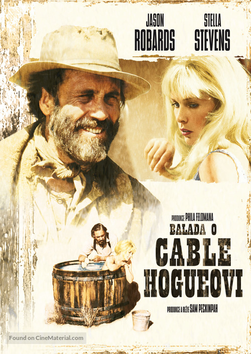 The Ballad of Cable Hogue - Czech DVD movie cover