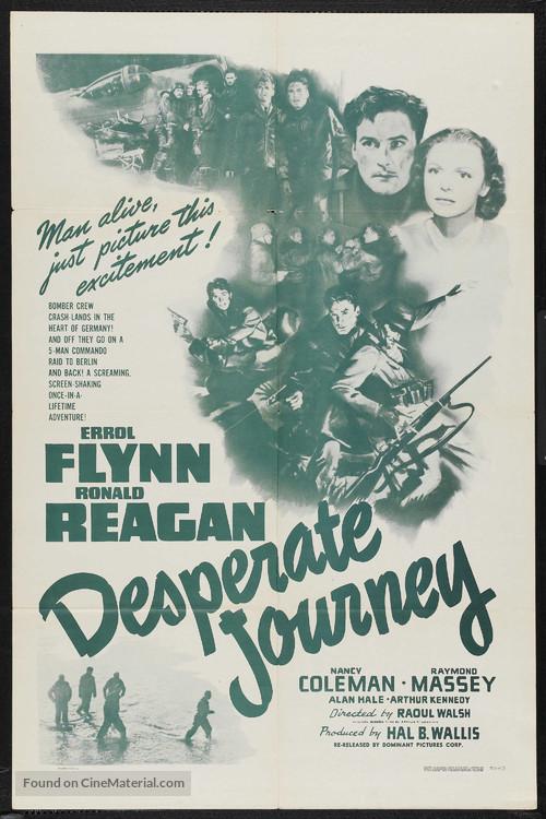 Desperate Journey - Movie Poster