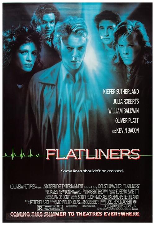 Flatliners - Advance movie poster