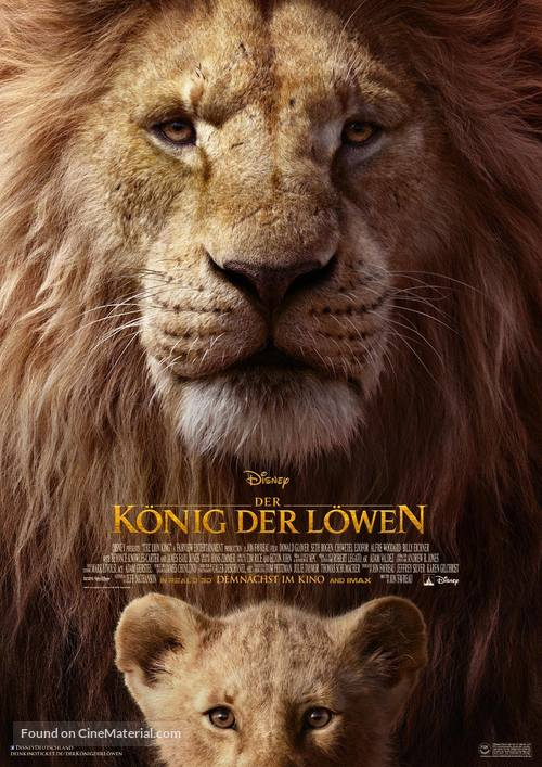 The Lion King 2019 German Movie Poster