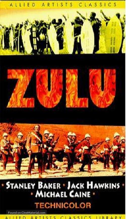Zulu - VHS movie cover