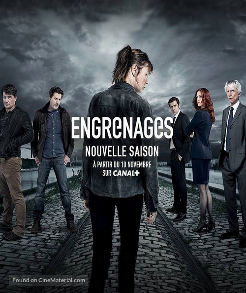 """Engrenages"" - French Movie Poster"