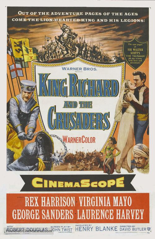 King Richard and the Crusaders - Movie Poster