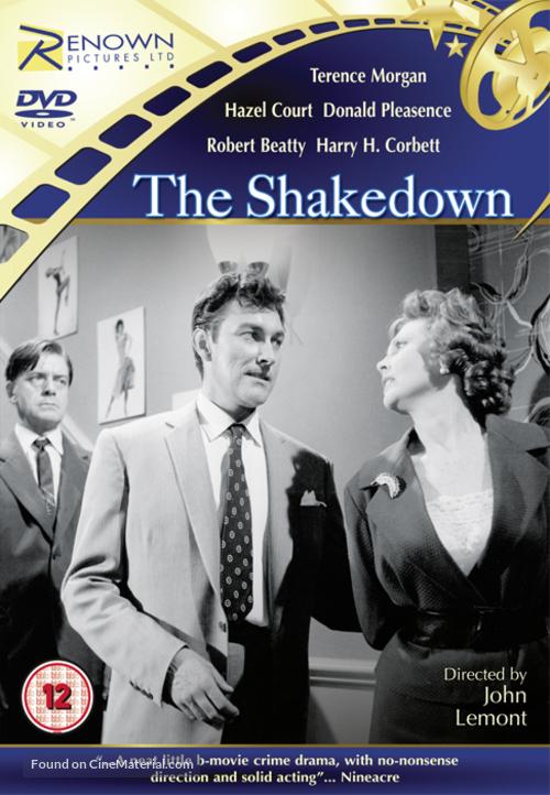 The Shakedown - British DVD movie cover