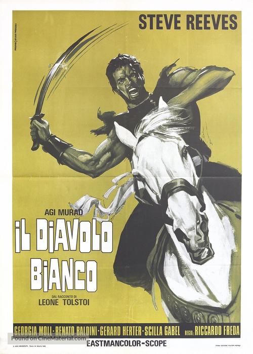 Agi Murad il diavolo bianco - Italian Movie Poster
