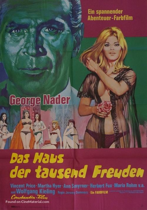 La casa de las mil muñecas - German Movie Poster