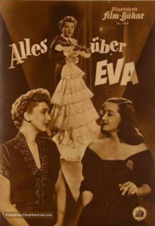 All About Eve - German Movie Poster