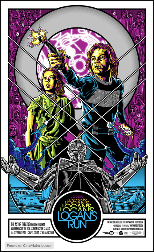 Logan's Run - Australian Homage movie poster