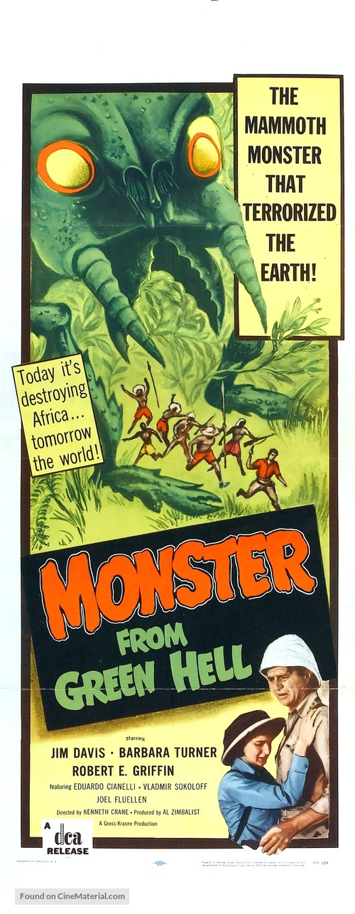 Monster from Green Hell - Movie Poster