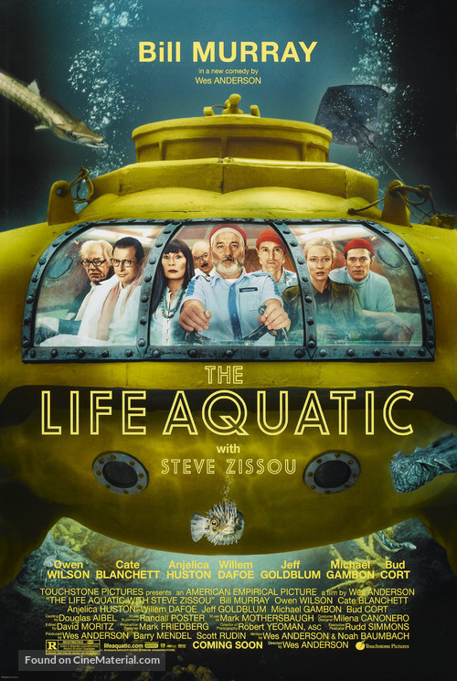 The Life Aquatic with Steve Zissou - Movie Poster