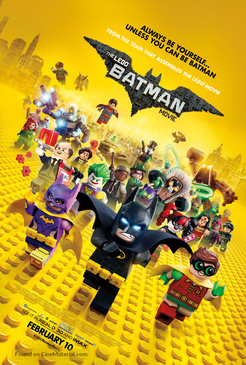 The Lego Batman Movie - Theatrical movie poster