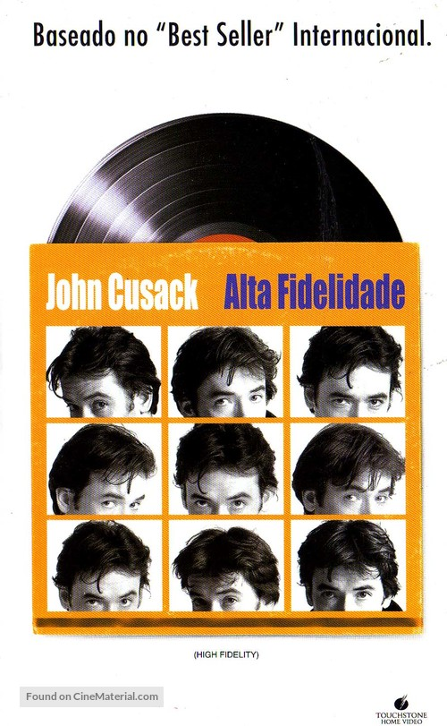 High Fidelity - Brazilian DVD movie cover